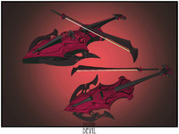 3ds max devil cello sword